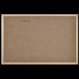 Anslagstavla Linen 60x100 cm