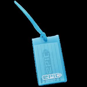 Bagagetag Epic blå